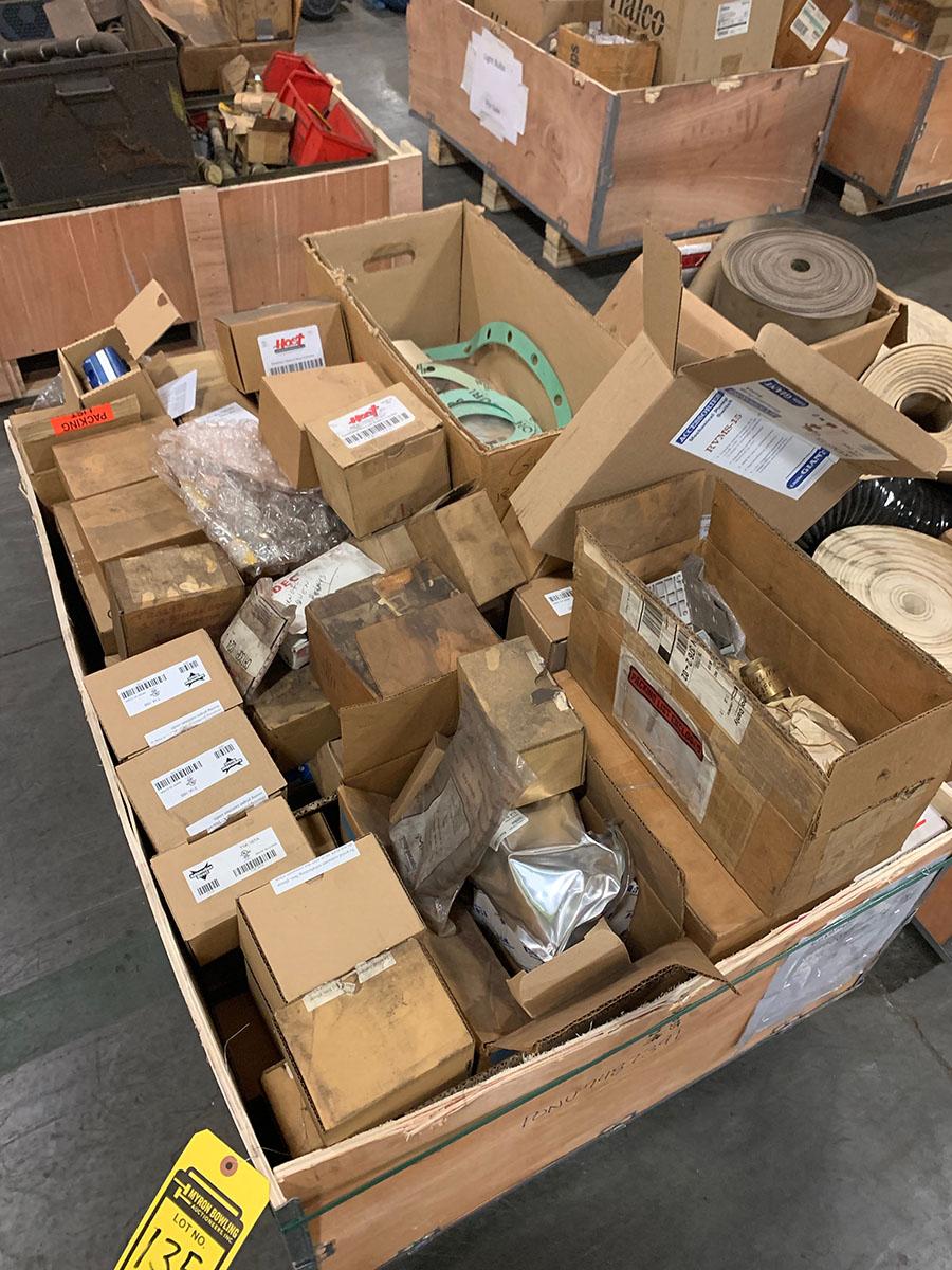 Lot 135 - (6) BOXES OF WHEELABRATOR PARTS