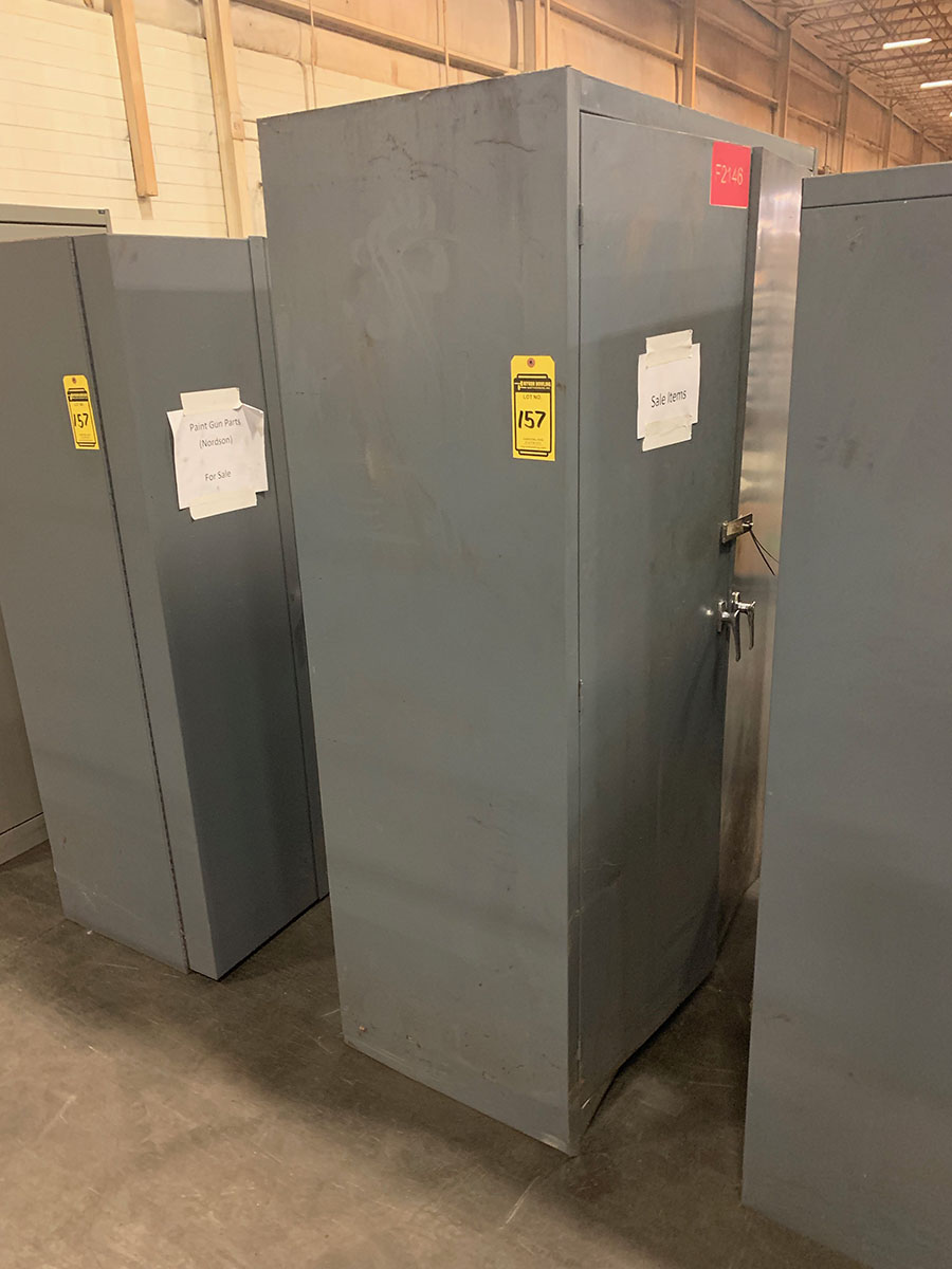 Lot 157 - (4) 2-DOOR CABINETS
