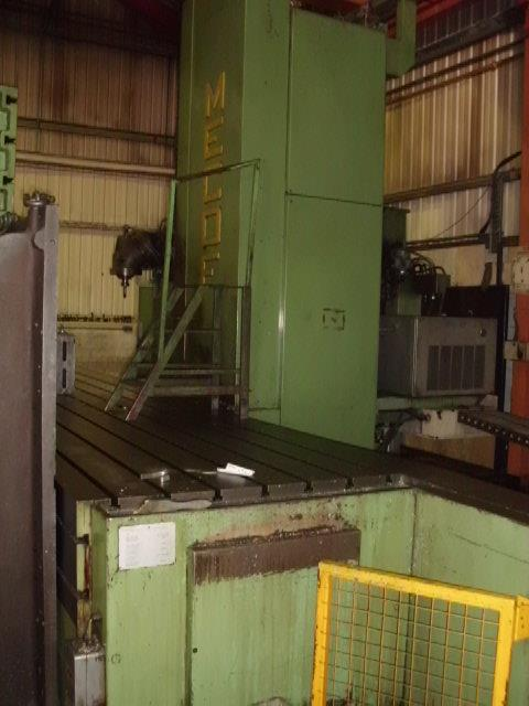 MECOF CNC BEDMILL (1985), serial no 068156, table 9m x 1200, 2 x table ext 1.5m x 1m, X - 6626, - Image 5 of 13