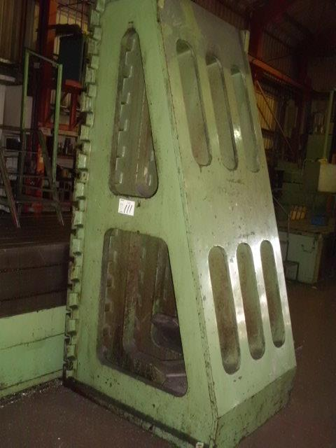 MECOF CNC BEDMILL (1985), serial no 068156, table 9m x 1200, 2 x table ext 1.5m x 1m, X - 6626, - Image 4 of 13