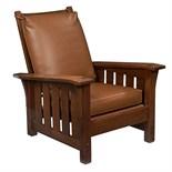 Gustav Stickley Rocker Armchair 397 Eastwood Ny Oak