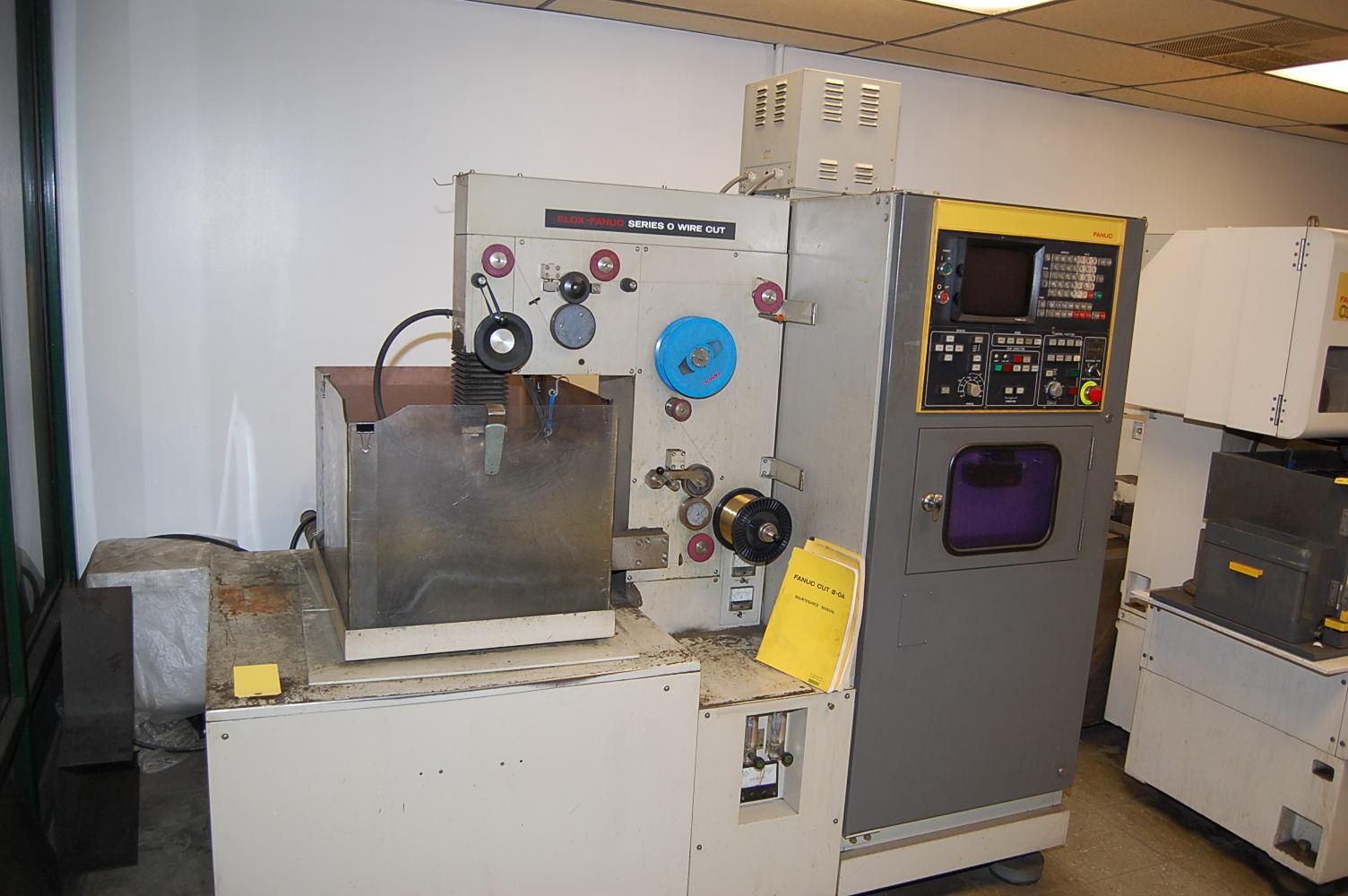 Elox-Fanuc Series O Wire Cut Electric Discharge Machine/EDM, Fanuc ...