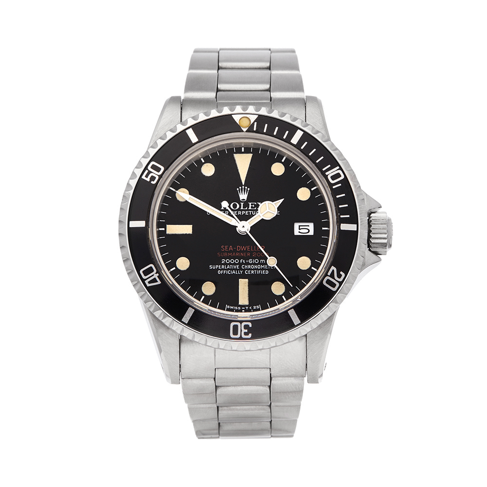 Rolex Sea-Dweller Double Red Drsd Stainless Steel - 1665 - Image 12 of 12