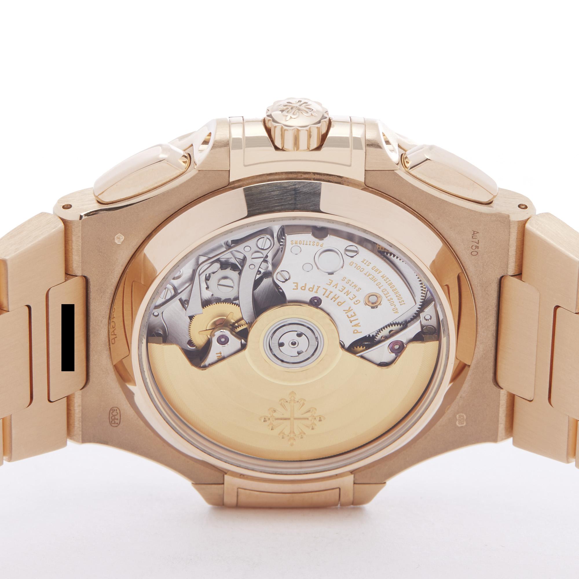 Patek Philippe Nautilus Chronograph 18k Rose Gold - 5980/1R-001 - Image 3 of 7