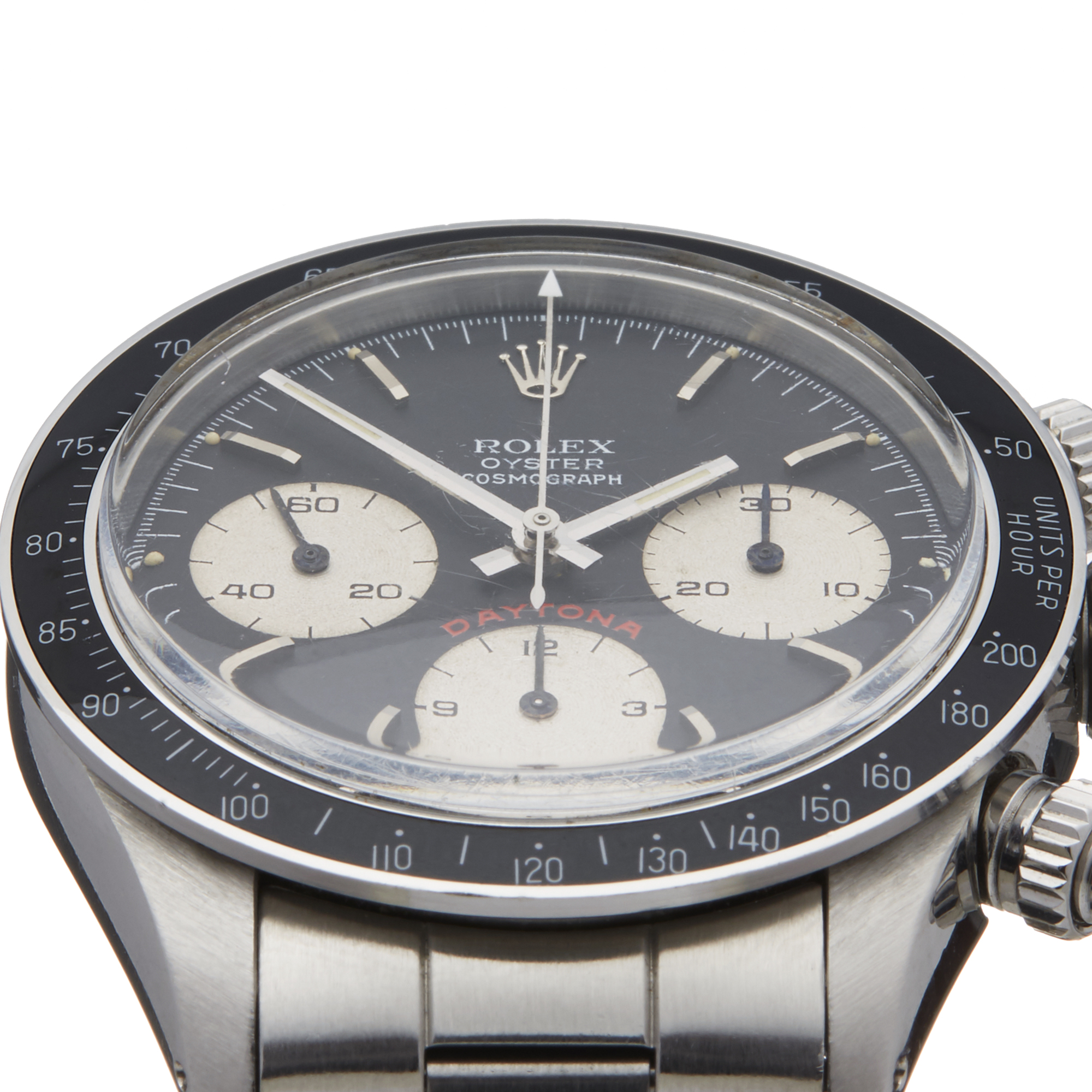 Lot 19 - Rolex Daytona Big Red Cosmograph Stainless Steel - 6263