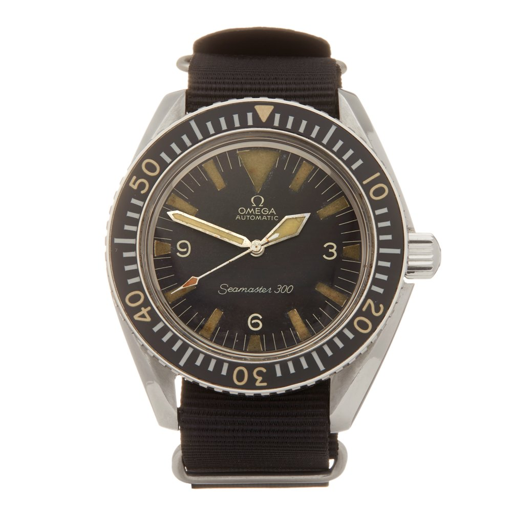 Lot 18 - Omega Seamaster 300 Military Stainless Steel - ST 165.024