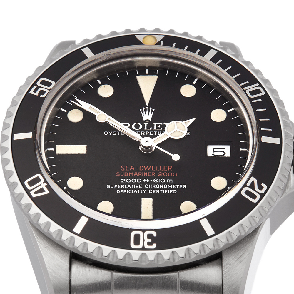 Rolex Sea-Dweller Double Red Drsd Stainless Steel - 1665 - Image 11 of 12