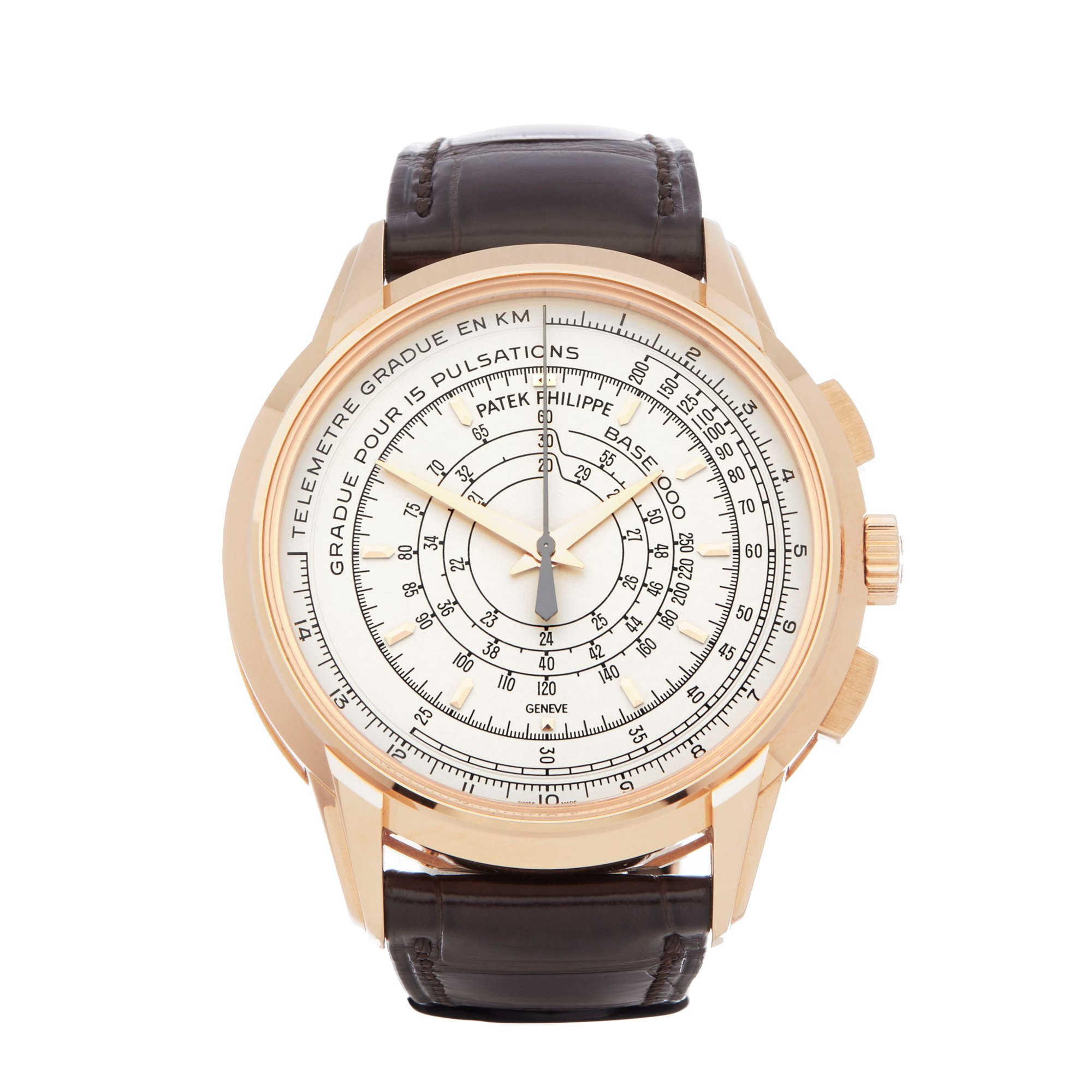 Lot 7 - Patek Philippe Multi-Scale Chronograph Eric Clapton's 175th Anniversary Watch