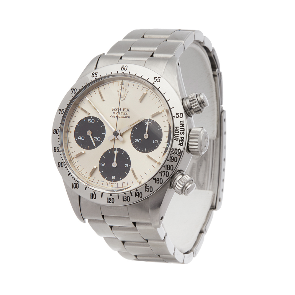 Lot 1 - Rolex Daytona Cosmograph Stainless Steel - 6265