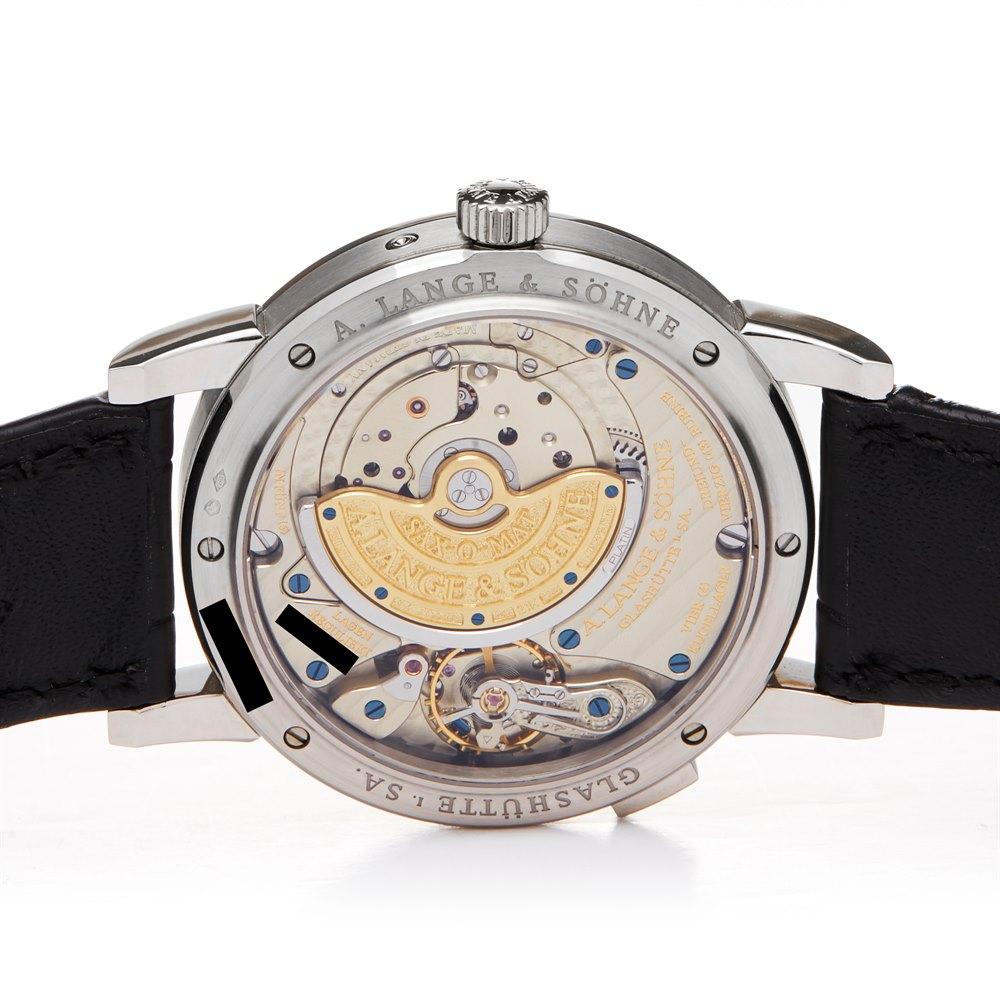 Lot 4 - A. Lange & Söhne Langematik Diamond Perpetual Calendar Platinum - 820.036