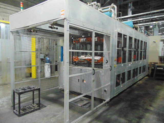 THERMOFORMING MACHINE, TAIWAN PULP MOLDING MDL. TPM-1500, mfg. 5/2015, installed 2016, 1500mm x - Image 4 of 13