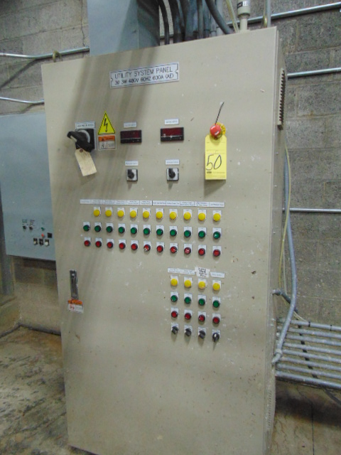 UTILITY SYSTEM CONTROL PANEL