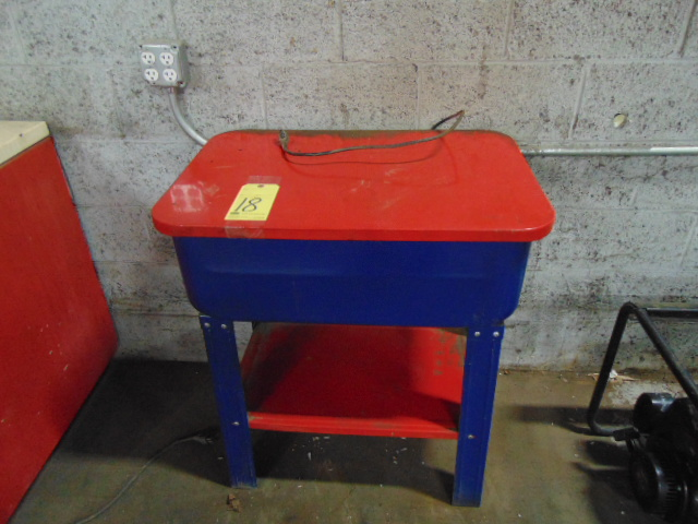 PARTS WASHER, CHICAGO ELECTRIC, 20 gal. cap.