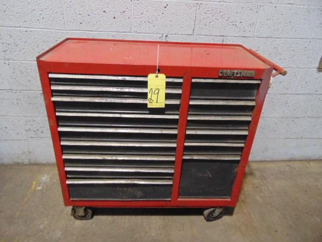 PORTABLE TOOLBOX, CRAFTSMAN, 15-drawer