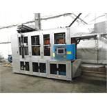 THERMOFORMING MACHINE, TAIWAN PULP MOLDING MDL. TPM-850, mfg. 5/2015, 850mm x 750mm x 100mm