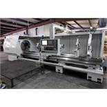 CNC FLAT BED HOLLOW SPINDLE LATHE, MICROCUT THE CHALLENGER BNC-40160VXXXXL, new 2012, installed in