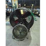 LOT OF CIRCULAR FANS (2), assorted