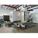 CNC HORIZONTAL BORING MILL, POREBA MDL. HBM4, new 2011 & installed 2013, 4.3' quill dia., Fanuc