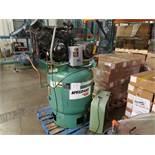 SPEEDAIRE Vertical 10hp Air Compressor w. Sullair Dryer,34.8CFM @175PSI, 208-230/460V Sullair dryer