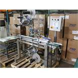 AUTOMATIX Pressure Sensitive Labeler, Model AC-720, S/N 1255, dom. 2007, (2) HERMA H400 16