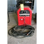 STICK WELDER, LINCOLN ELECTRIC MDL. AC-225, 225 amps.