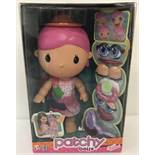 A brand new boxed Zapf Creations Patchy Dolly complete with accessories. Ex shop stock.
