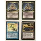 4 Magic the Gathering Trading Cards: