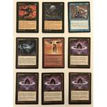 9 Magic the Gathering Trading Cards: