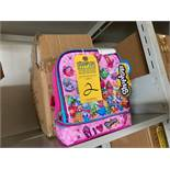 SHOPKINS CHILDRENS LUNCH BOXES (NEW)