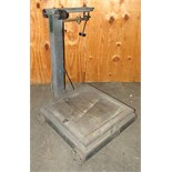 1500# Fairbanks Platform Scale