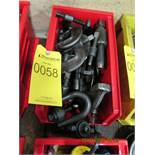 LOT OF ASSORTED SIZE CLAMPS