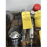 (2) 2'' PNEUMATIC ANGLE GRINDERS