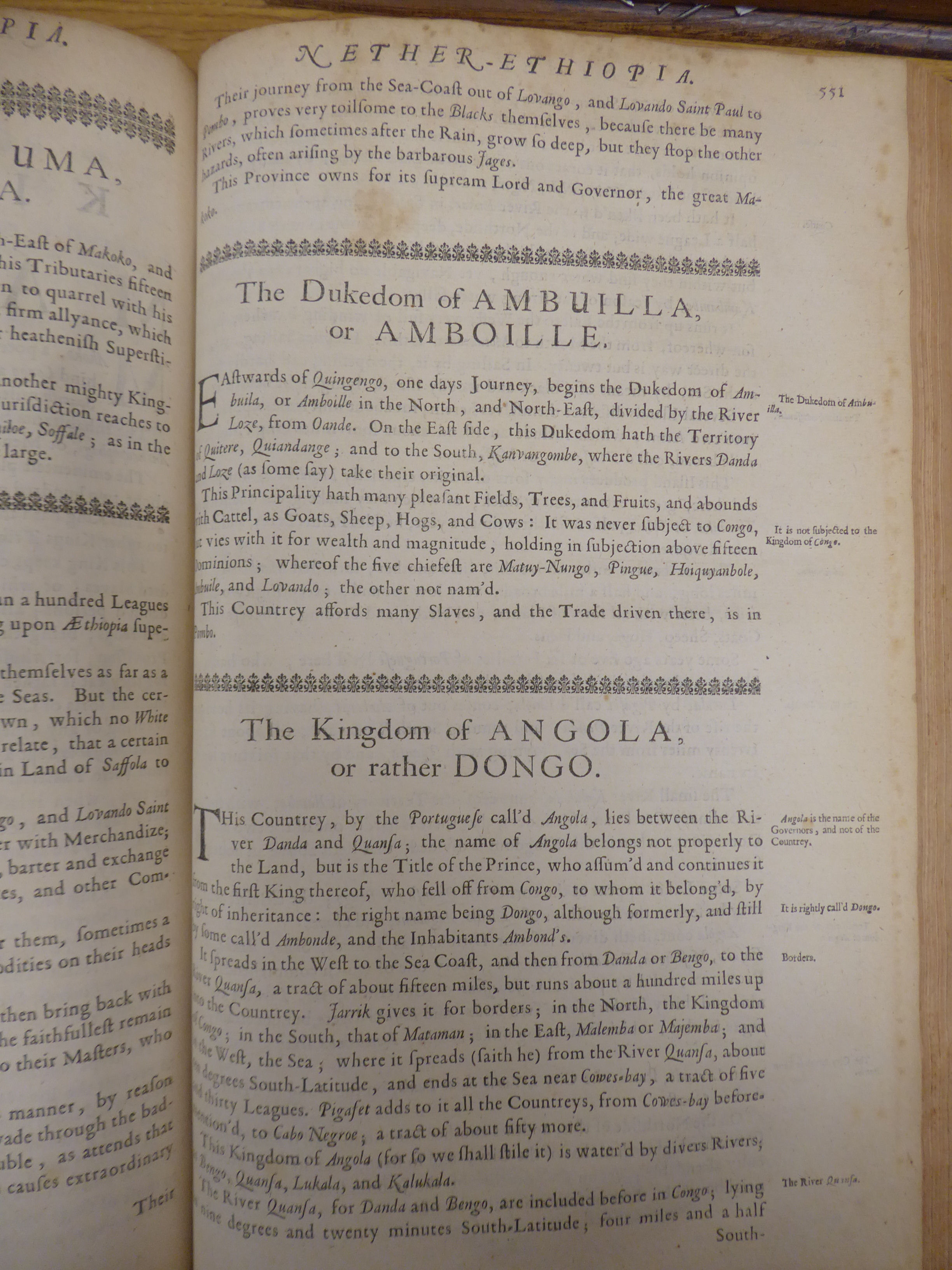 Lot 48 - Book: 'Africa: being an accurate description of the regions of Aegypt, Barbary,