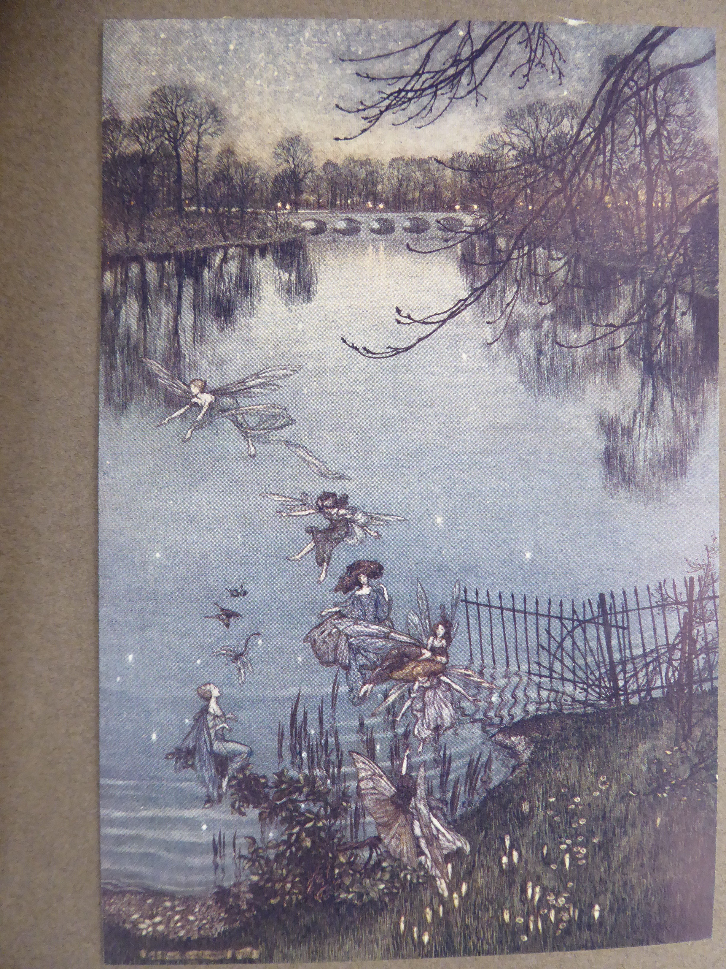 Lot 44 - Book: 'Peter Pan in Kensington Gardens' by JM Barrie with illustrations by Arthur Rackman