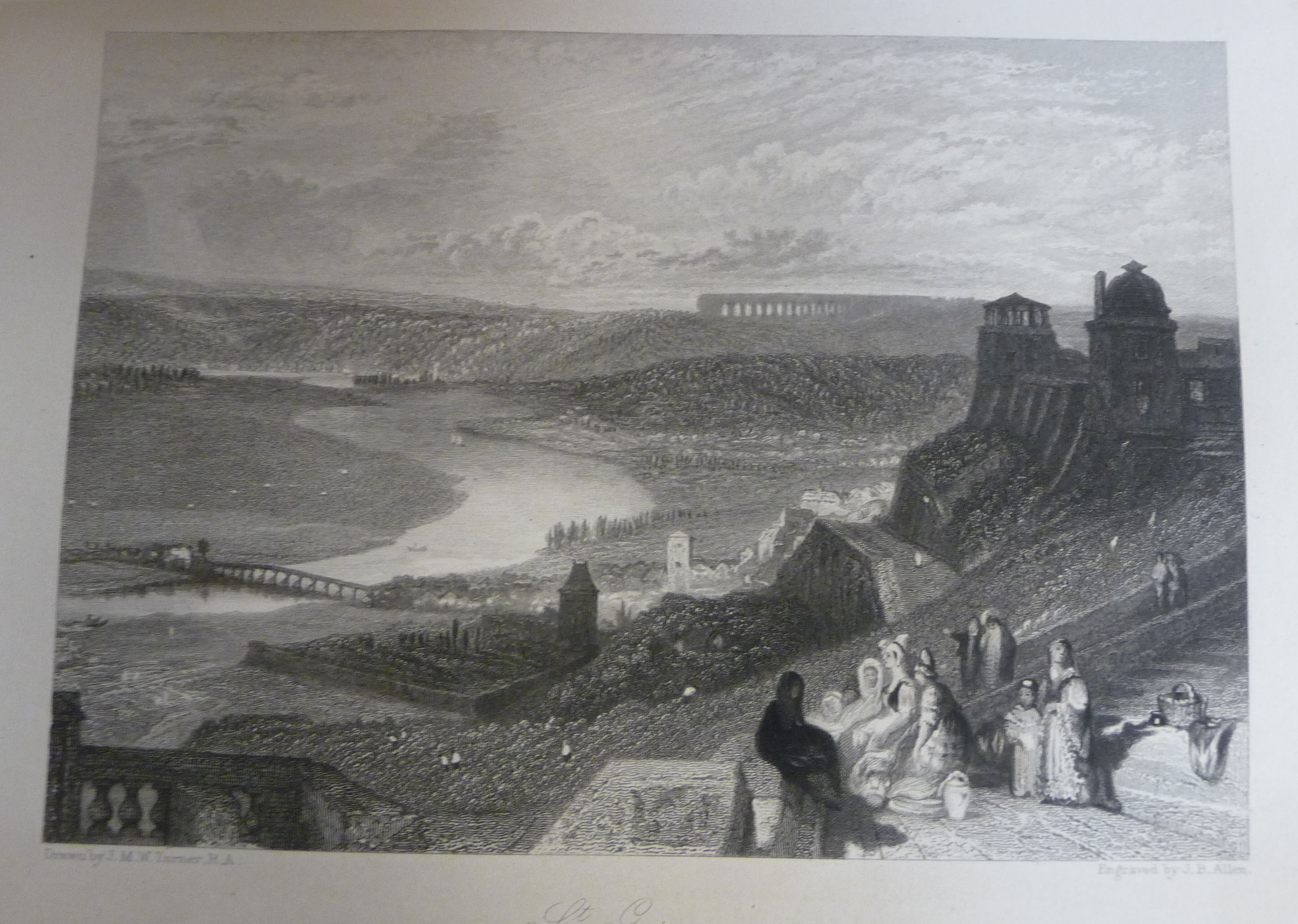 Lot 43 - Book: 'Wanderings by the Seine - from Rouen to the source' by Leitch Richie with twenty engravings