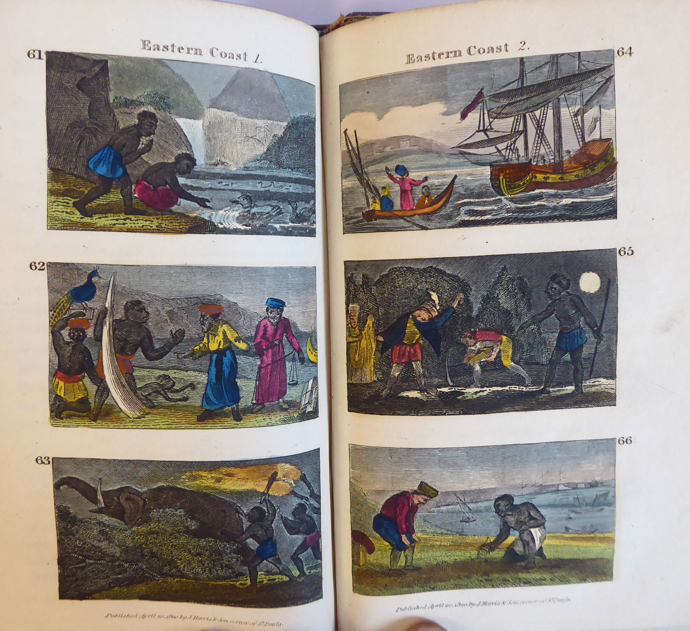 Lot 50 - Book: 'Scenes in Africa for the Amusement and instruction of little Tarry-at-Home Travellers' with
