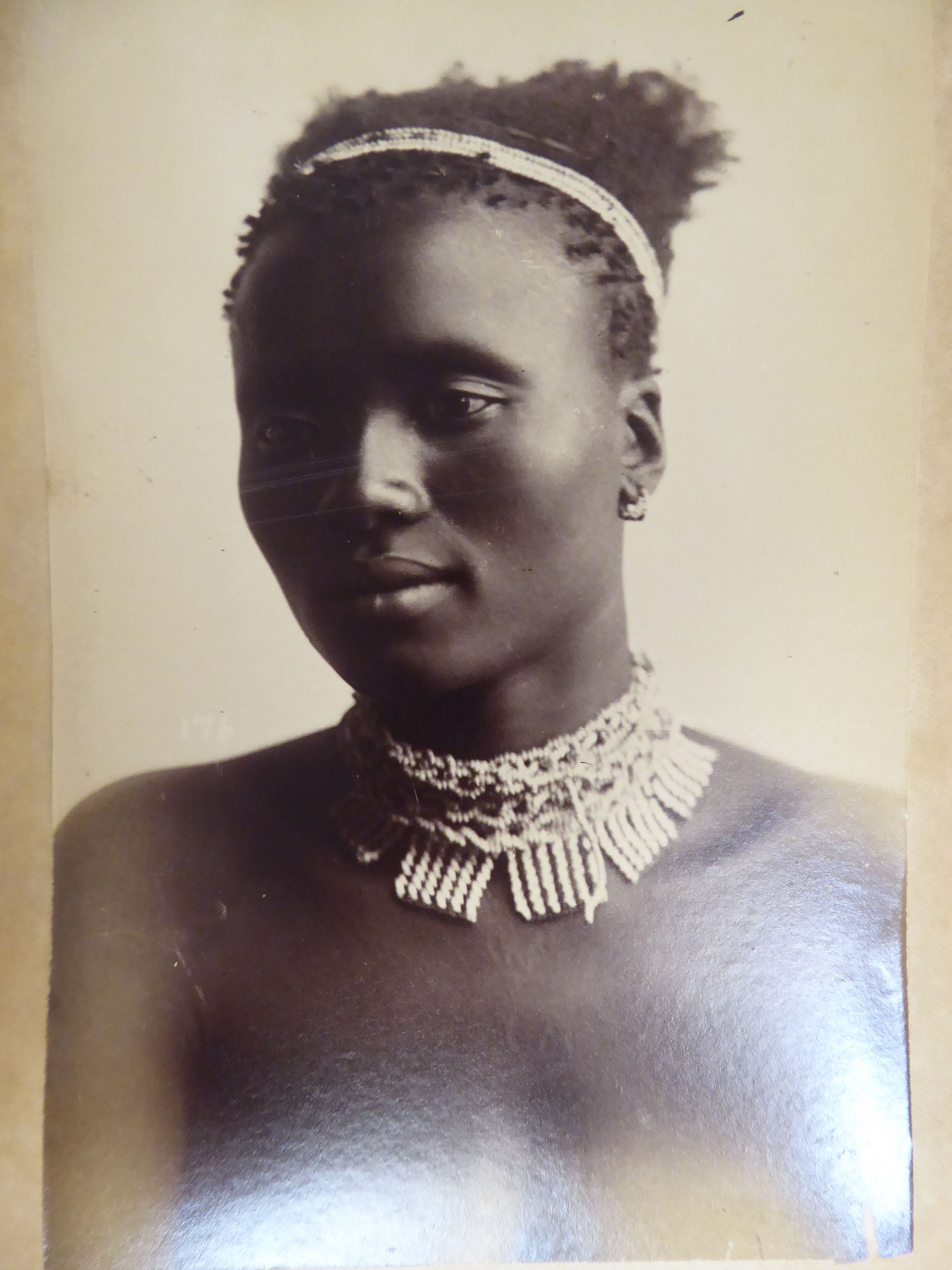 Lot 42 - A late 19thC album of monochrome photographs, featuring subjects in Natal,