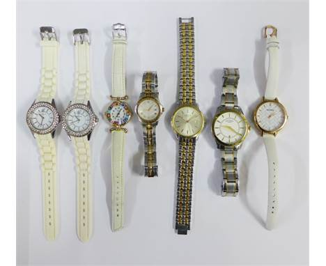 Collection of wristwatches to include Rotary, Murano and Sekonda, etc (7)