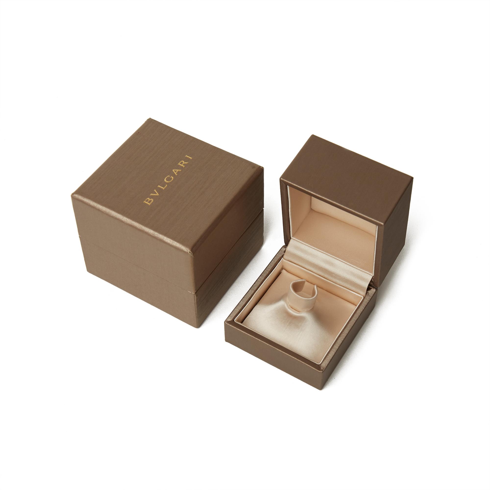 18k Rose Gold Diamond & Malachite Serpenti Ring - Image 4 of 10