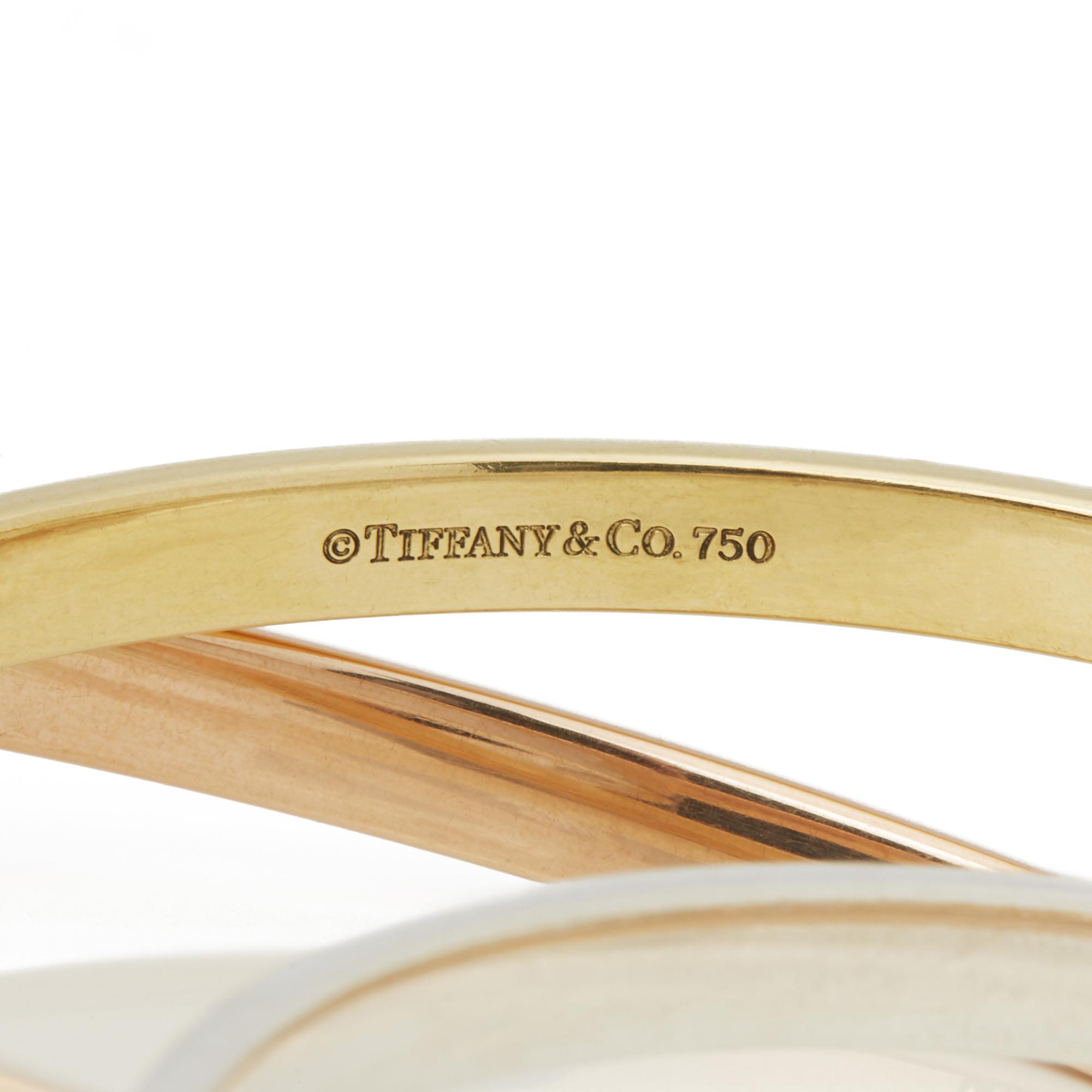 Lot 30 - 18k Yellow, Rose Gold & Silver 1837 Bracelet