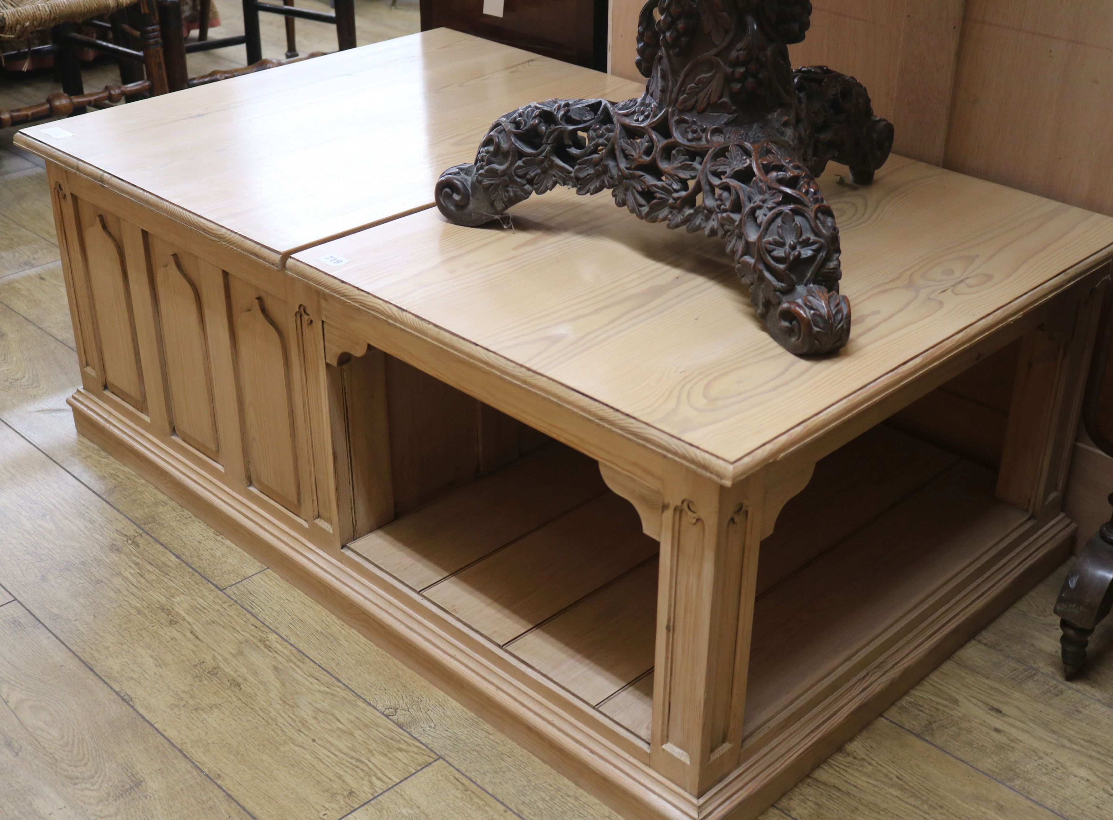 A Gothic Style Coffee Table