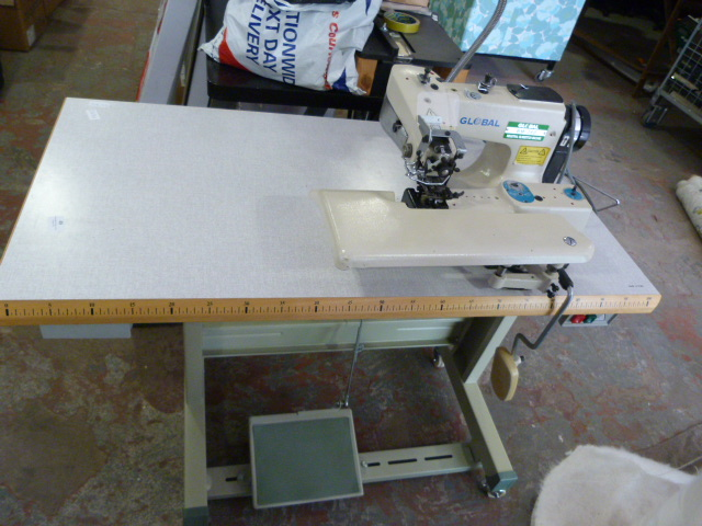 Lot 49 - *Global BM-360 Industrial Blind Stitch Machine
