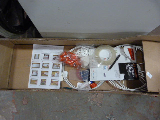 Lot 38 - *Small Quantity of Lamp Shade Making Equipment