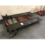 Chiesa Marco Hydraulic Mobile Scissor Bench w/ Ramps