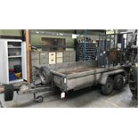 Indespension Challenger Double Axle Plant Trailer