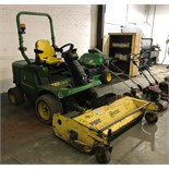 John Deere 4WD 1445 Series II Mower W/ Ryetec PF 1600 Flail Mower | 2012