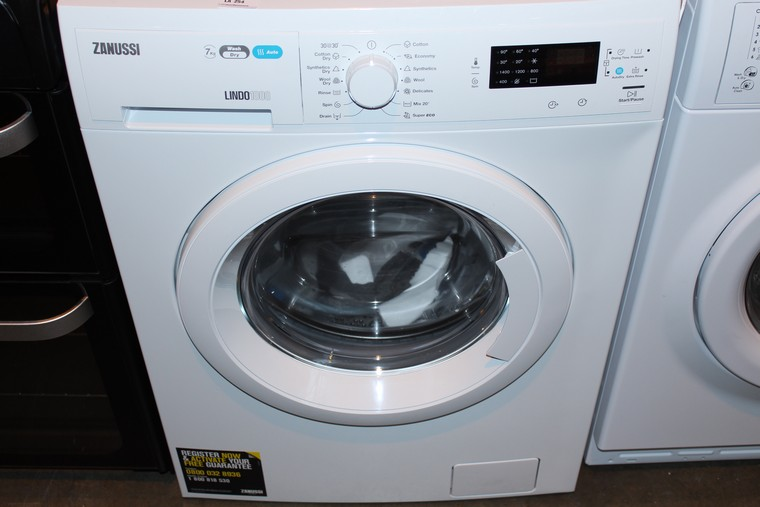 1 x ZANUSSI ZWD91683NW WASHER DRYER IN WHITE RRP £650 (29.11.17) (2534433) *PLEASE NOTE THAT THE