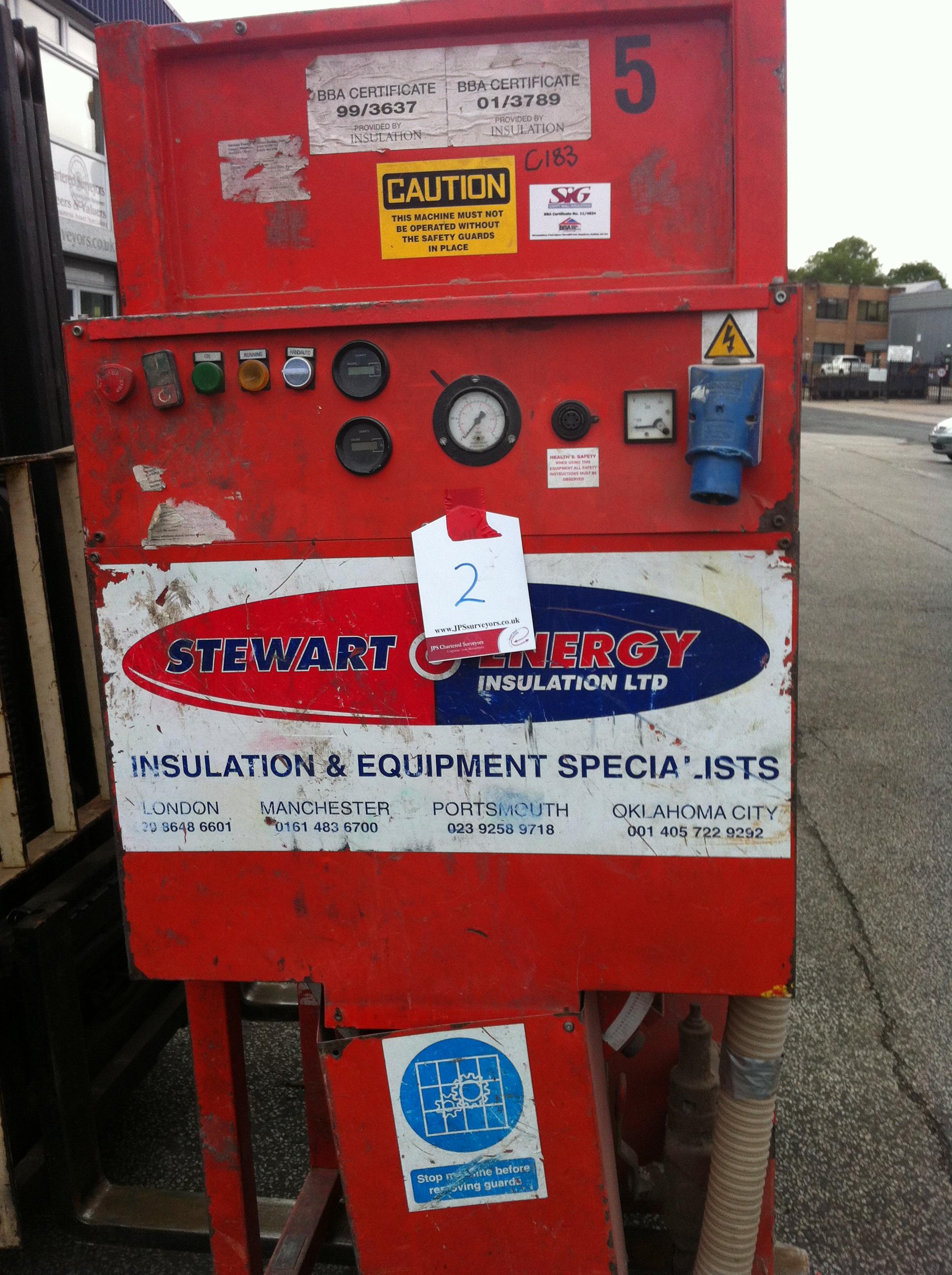 Stuart Energy Cavity Wall Insulation Machine