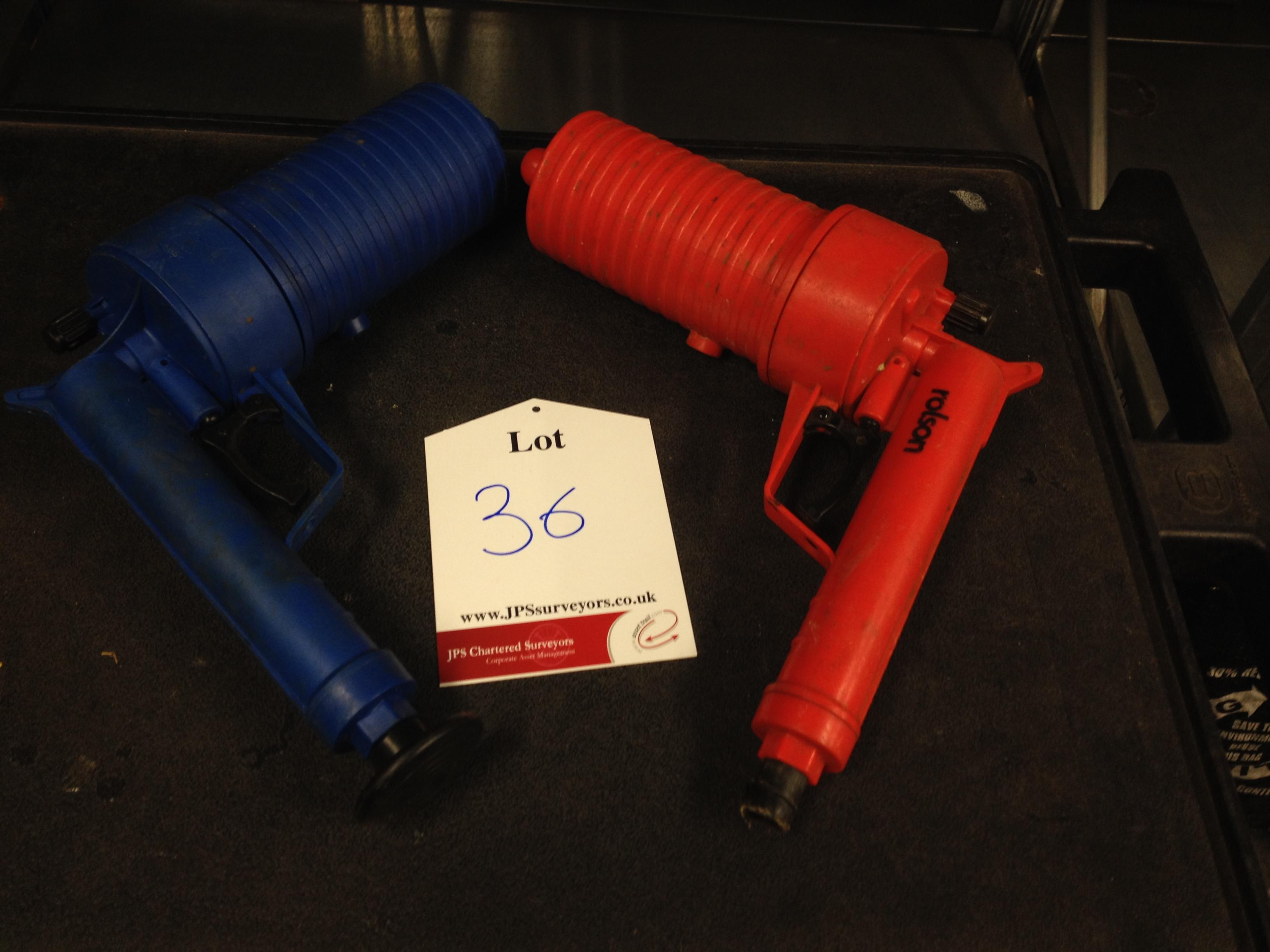 1 x Roison Air Drain Blaster, 2 x ProPlus Blue Air Drain Duster