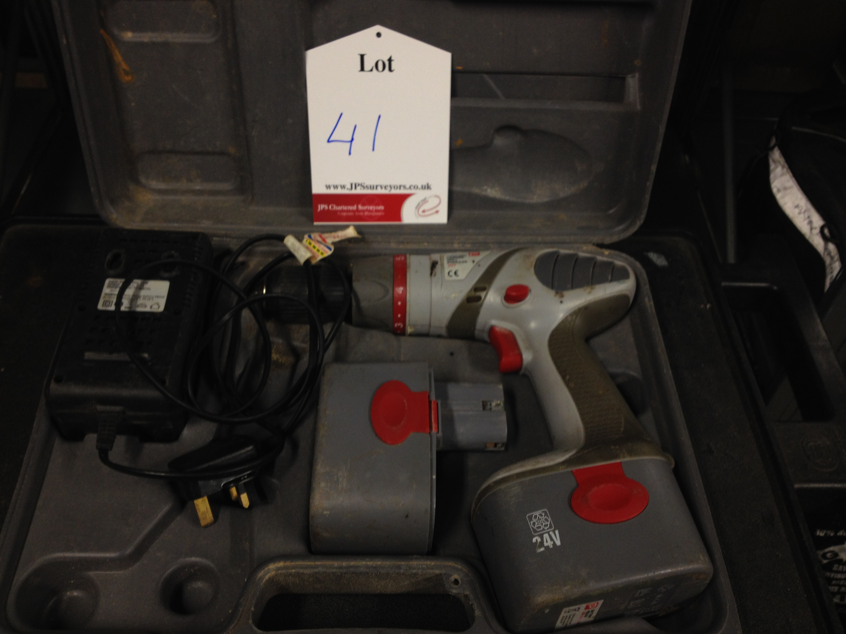 1 x Performance Power cordless Hammer Drill 500w - Image 2 of 3